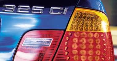 LED Taillight of 2003 BMW 325 Ci (European Model)