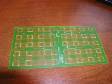 Top layer of STOP/TAIL PCB.
